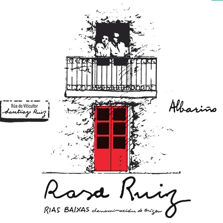 Etiqueta de Rosa Ruiz