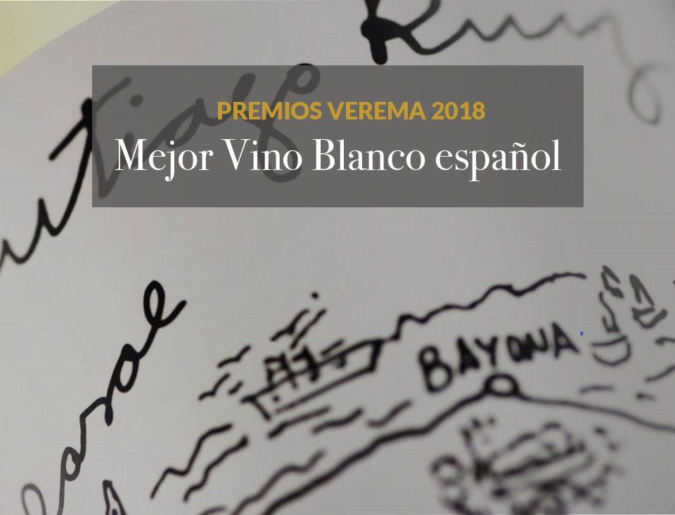 Santiago Ruiz, mejor vino blanco de España en los Premios Verema premios verema 960x733